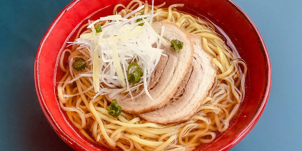 和風チャーシュー麺