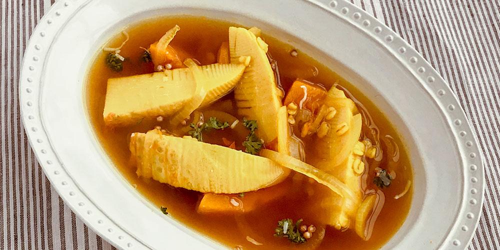 タケノコのスープカレー