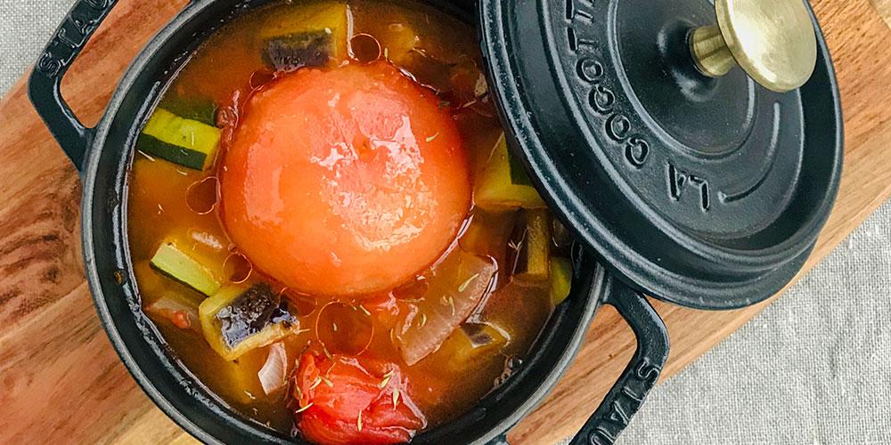 トマトの贅沢スープ