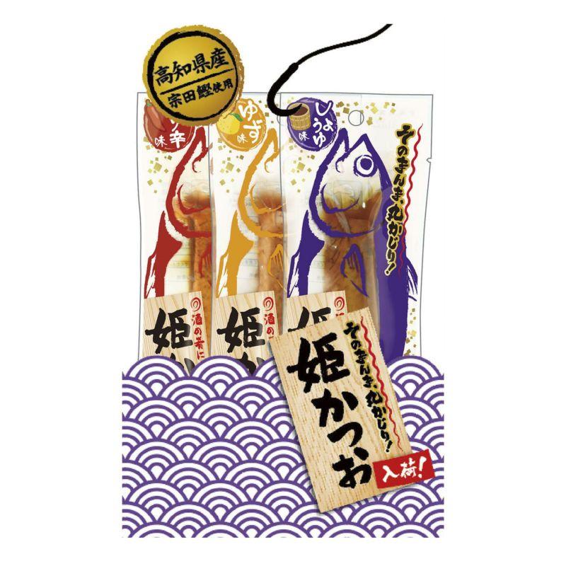 姫かつおスティック ミックス3本入
